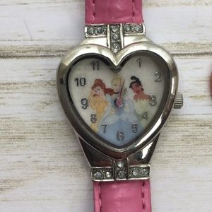 Disney PRINCESSES  Womens Watch NEW BATTERY Pink